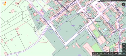 Cartografía de la Dirección General del Catastro