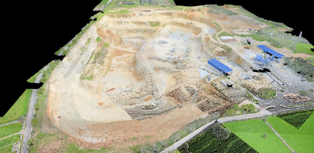 Fotogrametria desde el aire en Baleares