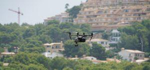 drones en topografía