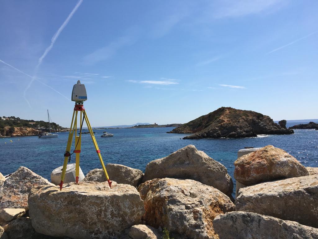 Láser escáner en Mallorca, Menorza, Ibiza y Formentera
